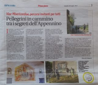 2017_07_28 pellegrini in cammino - modigliana